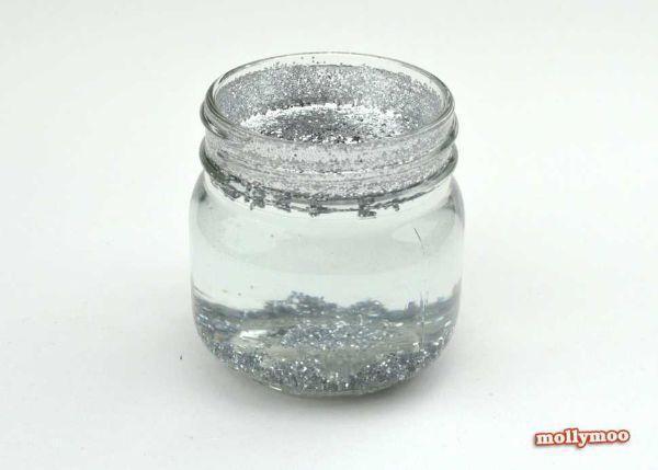 Fase due progetto boule a neige di Mollymoocrafts.com