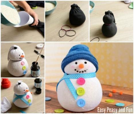 Decorazione fai da te per Natale su Easypeasyandfun.com