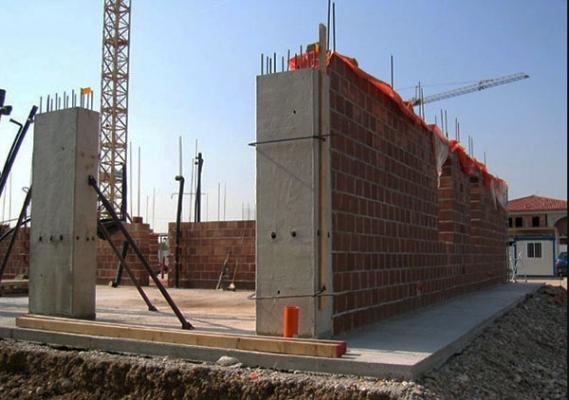 Costruzioni antisismiche: pareti in muratura poroton