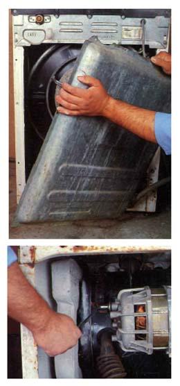 Come prelevare il motore di una lavatrice