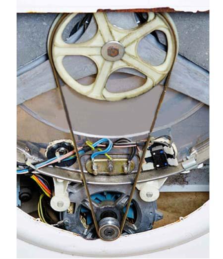 Motore della lavatrice