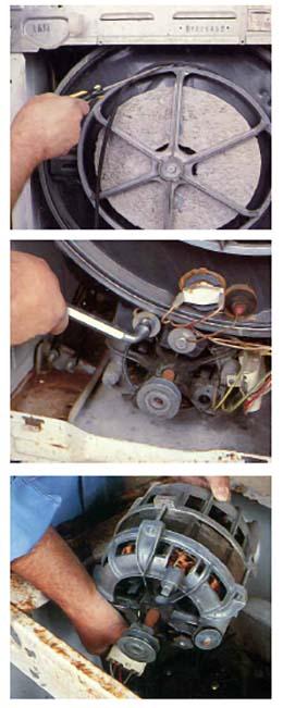 Smontaggio motore lavatrice