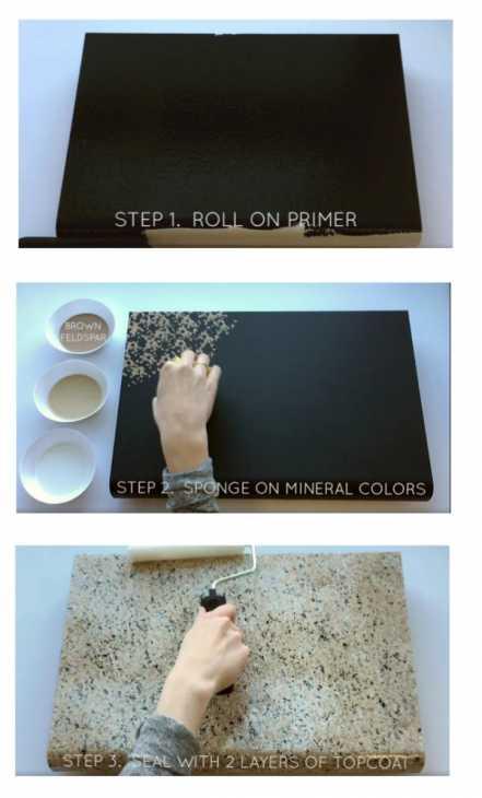 Rinnovare i top di bagni e cucine con i prodotti Giani Granite