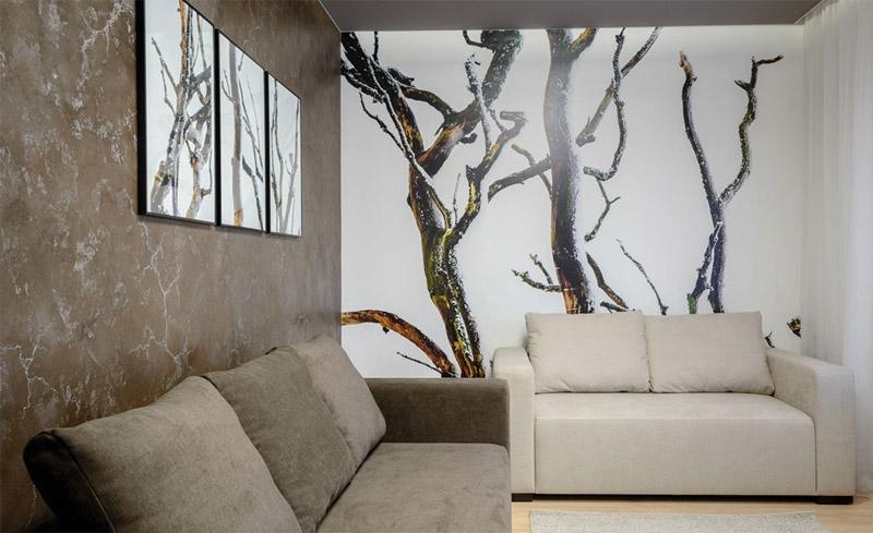 Rinnovare gli ambienti con le tinteggiature San Marco, marmorino classico