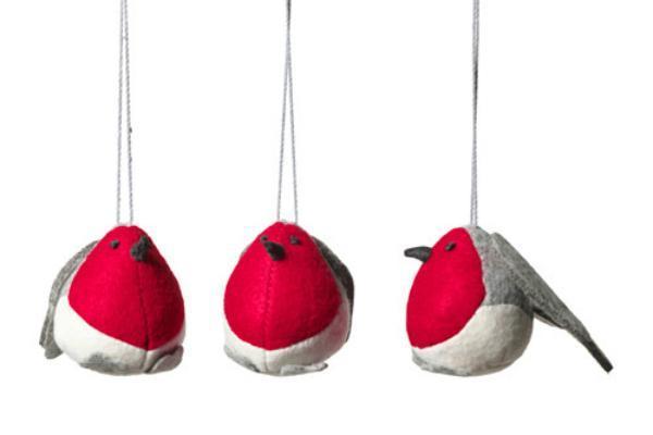 Decorazione giardino Natale pulcini di Ikea