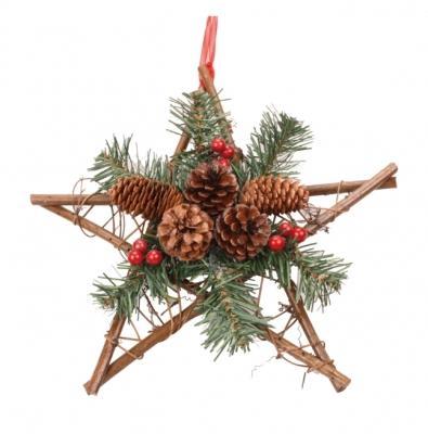 Decorazione giardino Natale a stella di LeRoy Merlin
