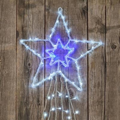 Decorazione giardino Natale stella led by LuminaPark