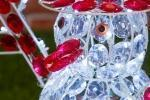 Decorazione giardino Natale pupazzo neve LuminaPark