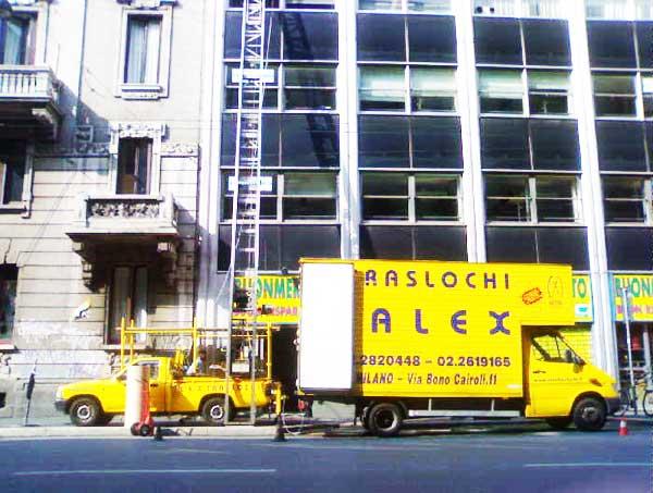 Ditta ALEX TRASLOCHI: specialisti del trasloco