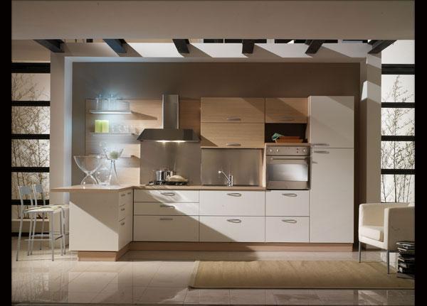 Acquistare la cucina: modello cucina componibile con semipenisola di Alex & Stefi s.a.s.