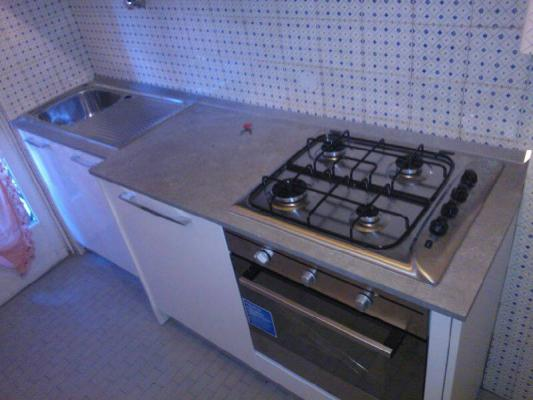 Cucina su misura a profondità ridotta 50cm - Alex & Stefy