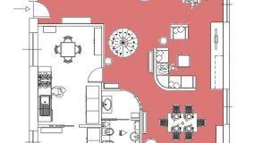 Ristrutturazione in pianta di una abitazione