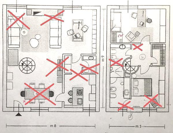 Ristrutturazione appartamento - errori progettuali