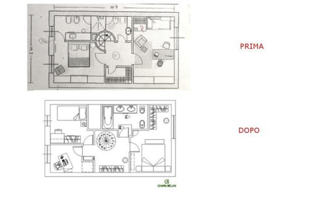 Ristrutturazione di un appartamento: prima e dopo