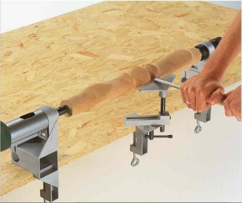 Tornitura del legno - Tornio per legno fatto in casa ...