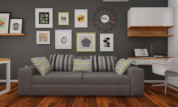 Rapporto tra i quadri e lo stile dell'arredamento