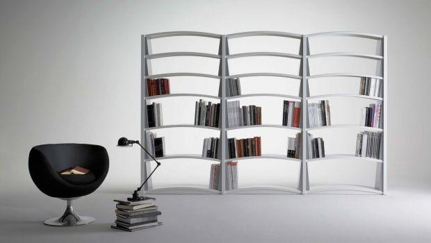 Librerie componibili in metallo for Librerie metalliche design