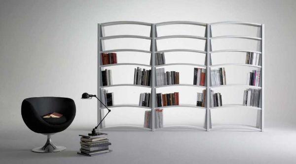 Libreria componibile in metallo Chiave di Volta di Dieffebi.com