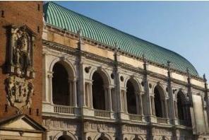 Il rame nella copertura dei tetti - Basilica Palladiana. Vicenza