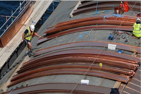 Il rame nella copertura degli edifici - Postazione Lizard. Foto PBWC Architects