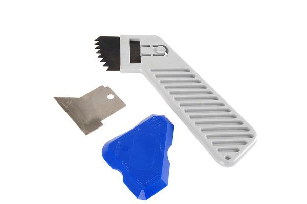 Utensili per la rimozione del silicone
