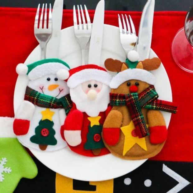 Segnaposto per tavola natalizia su Amazon