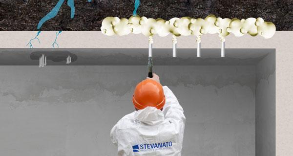 Soluzioni poco invasive per risolvere il problema delle infiltrazioni d'acqua di STEVANATO