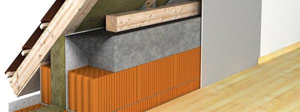 Coibentazione tetto con i pannelli isolanti di Rockwool