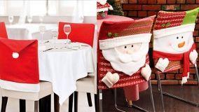 Coprisedie per Natale: tante idee per creare decorazioni fai da te