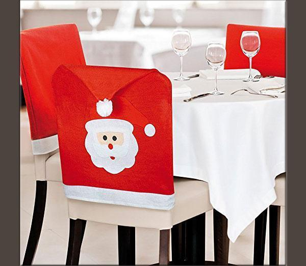 Coprisedie di Natale a forma di cappello di Babbo Natale, by eBuy GB su Amazon