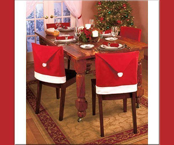 Cappelli di Babbo Natale come coprisedie, di eBuy GB su Amazon