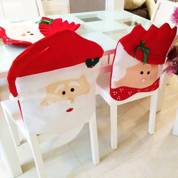 Coprisedie natalizi dell'azienda Feichen, venduti su Amazon