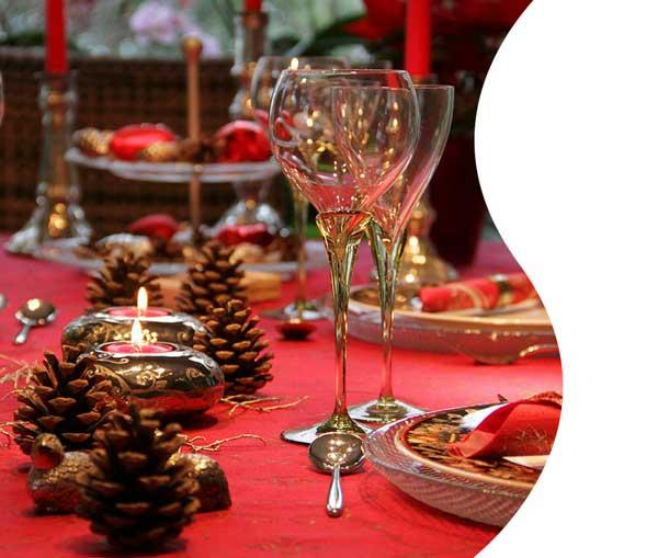 Tradizionale mise en place di Natale di DALANI
