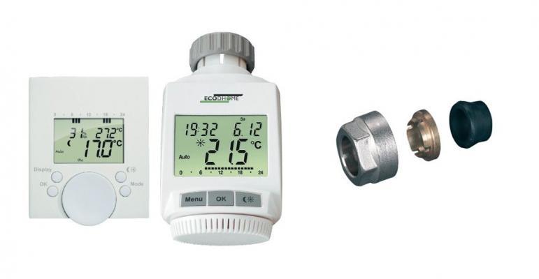 Termostati e adattatori per valvole termostatiche su Leroy Merlin