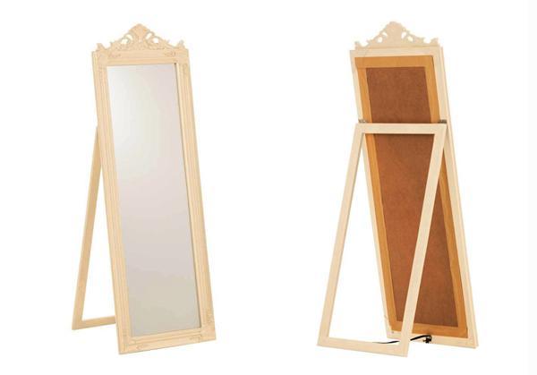 Specchio da terra venduto su Amazon di CLP