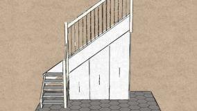 Soluzioni diverse per utilizzare al meglio lo spazio del sottoscala