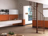 Come sfruttare il sottoscala con scale di design di Fontanot