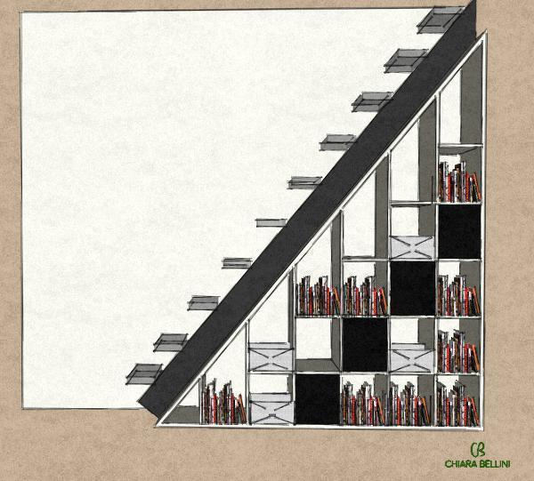 Creare una libreria nel sottoscala