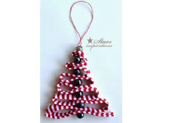 Decorazione alberello natalizio Starsinspirations.blogspot.it