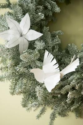 Origami per l'albero di Natale di goodhousekeeping.com