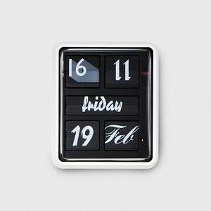 Pezzo dell'orologio a palette Font Clock di Established&Sons