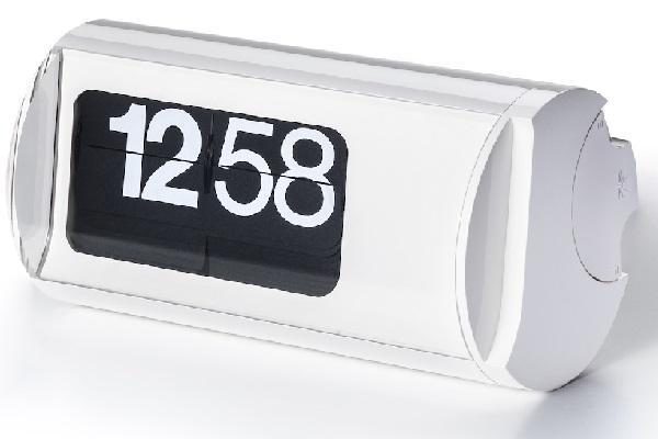 Orologio a palette Cifra 3 bianco da Solari Linea Design