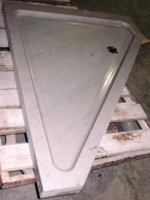 Piatto doccia triangolare in marmo: realizzazione Edil Gemini
