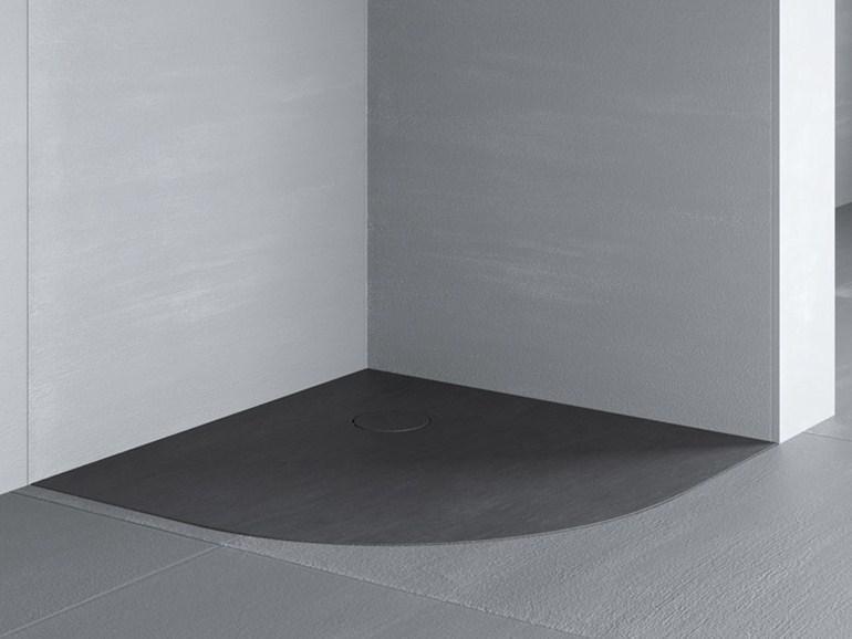 Foto box doccia triangolare progetto foto box doccia triangolare progetto - Piatto doccia filo pavimento ...