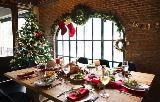 Vischio come decorazione di Capodanno