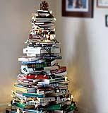 Mini albero di Natale con libri di familysponge.com