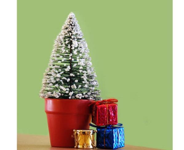 Mini albero di Natale Fai da te