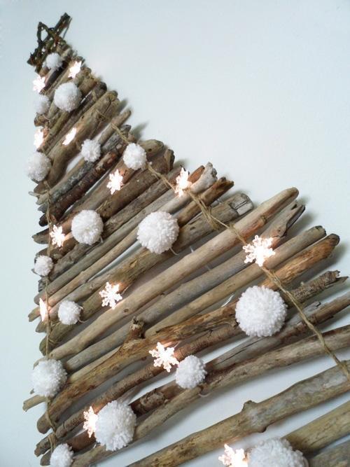 Mini albero con rami di laloleblog.blogspot.it