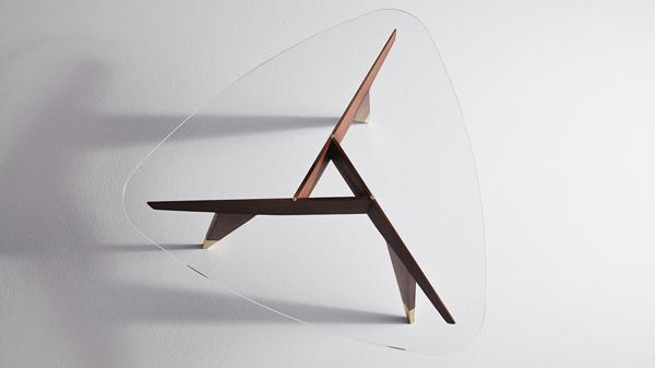 Tavolino da salotto D.522.2. di Molteni