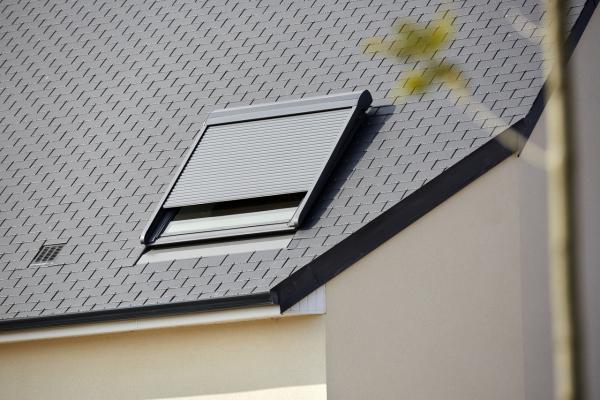 Finestra a tetto, vista esterna